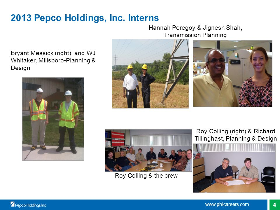 4 2013 Pepco Holdings, Inc.