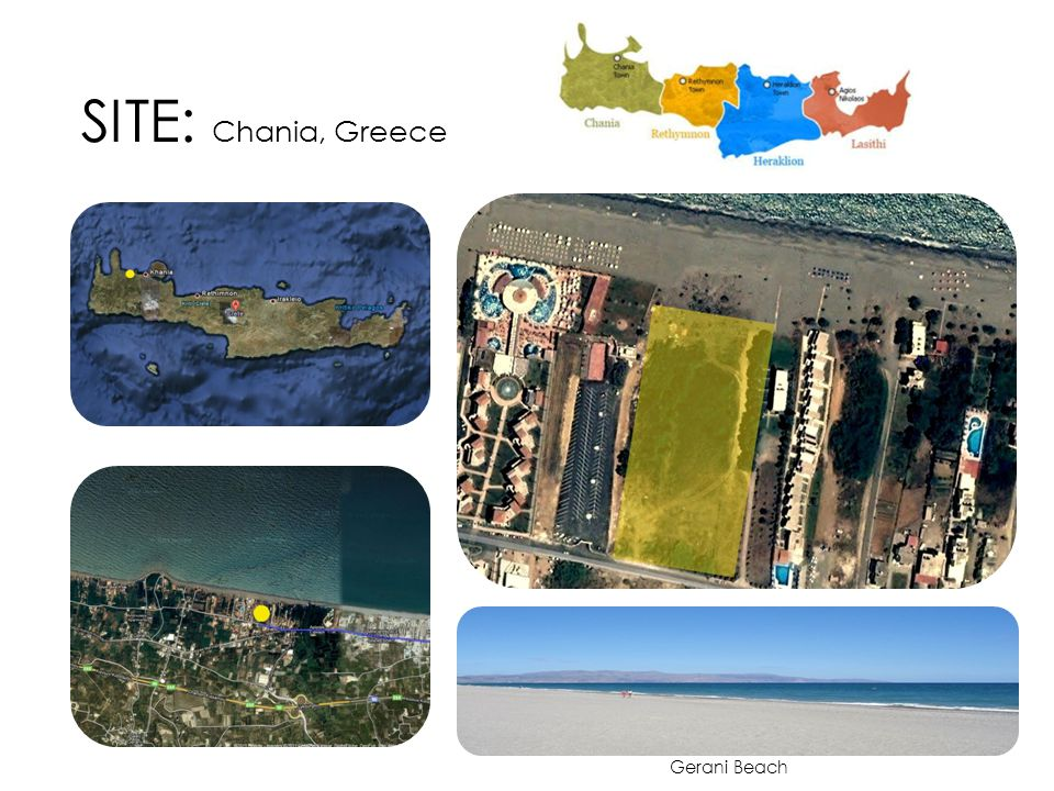 SITE: Chania, Greece Gerani Beach