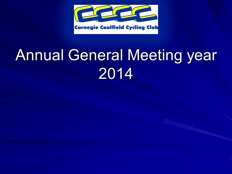Annual General Meeting year 2014
