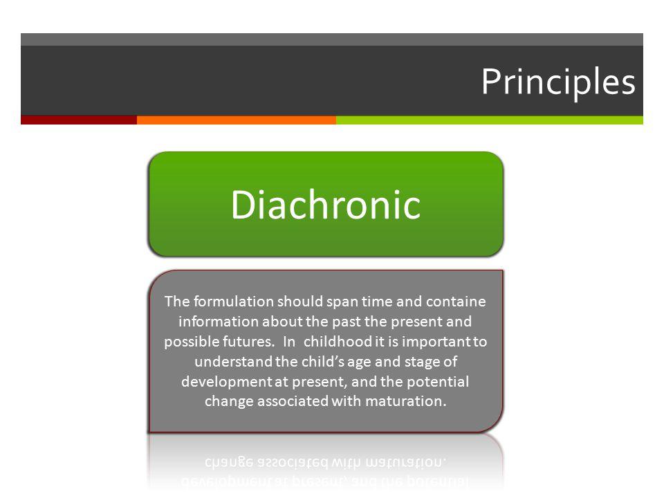 Principles Diachronic