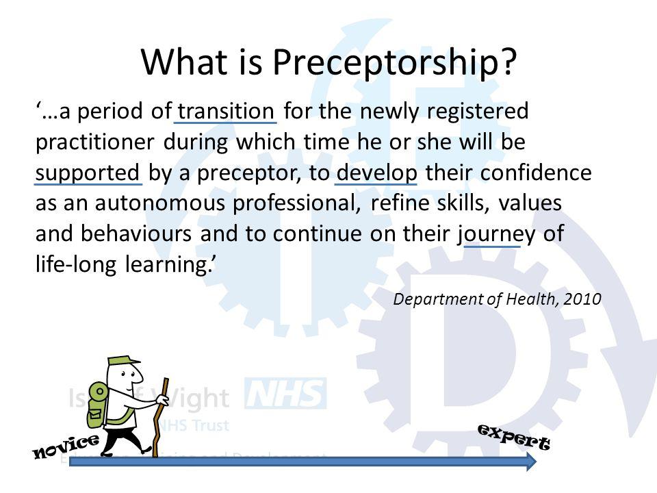 What is Preceptorship.