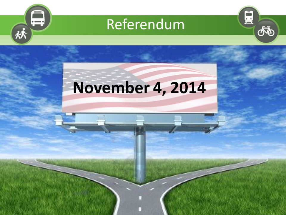 November 4, 2014 Referendum