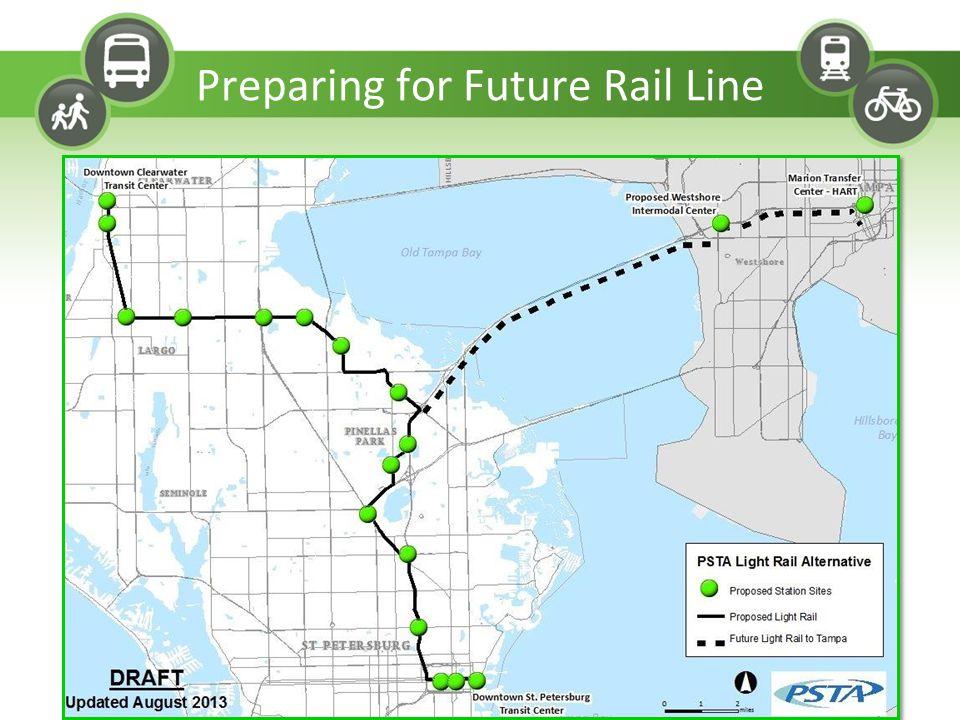 Preparing for Future Rail Line