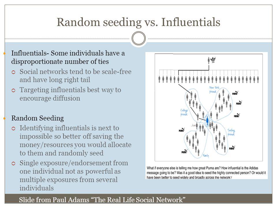 Random seeding vs.