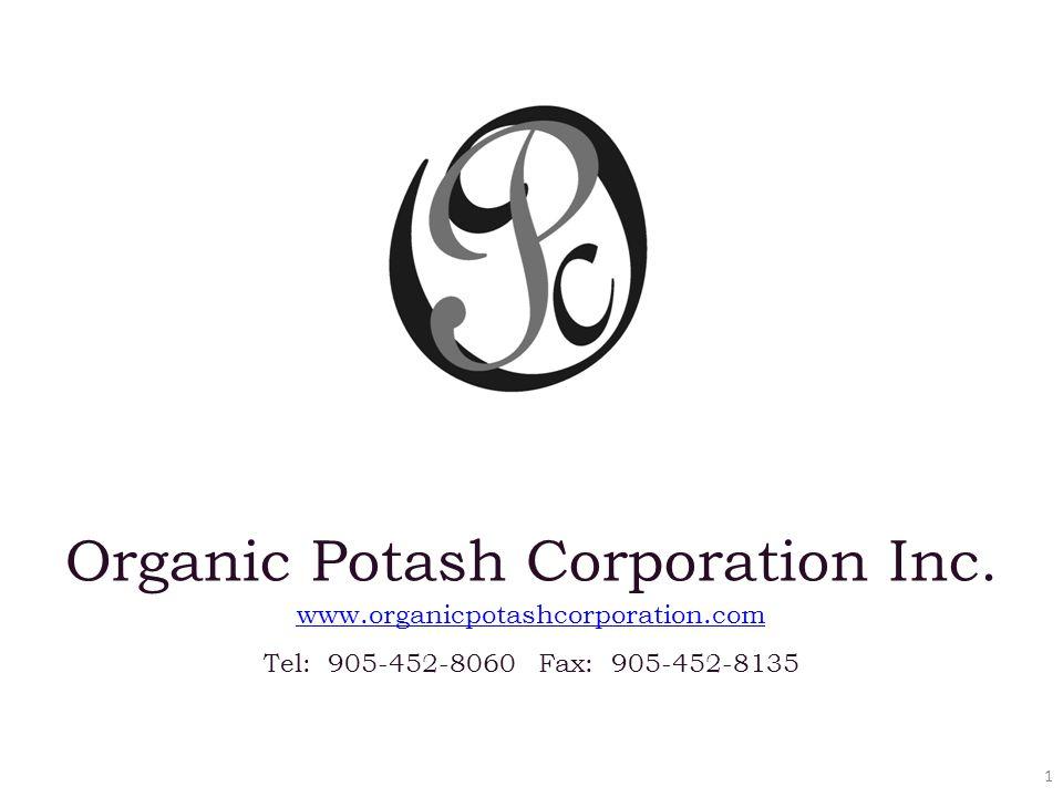 1 Organic Potash Corporation Inc.