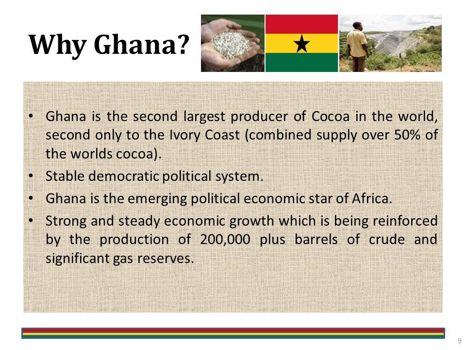 Why Ghana.