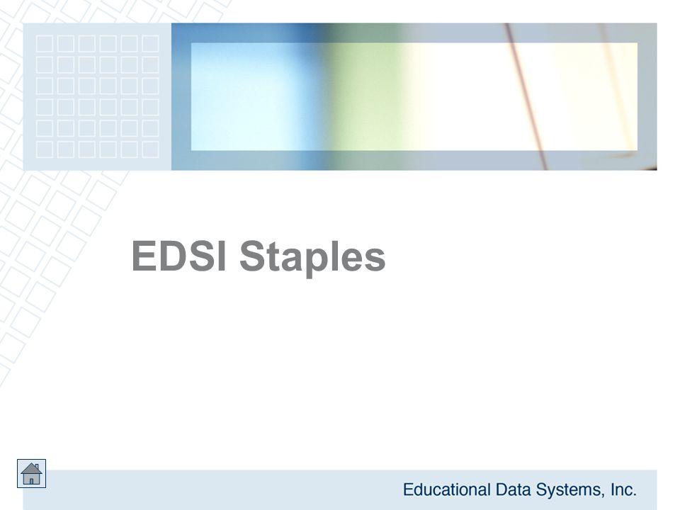 EDSI Staples