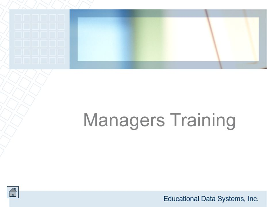 Managers Training