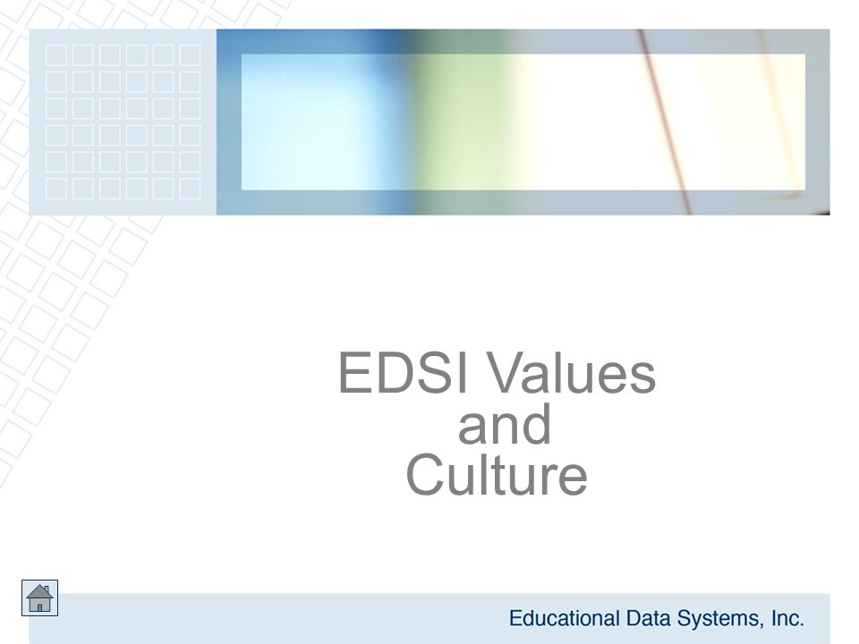 EDSI Values and Culture