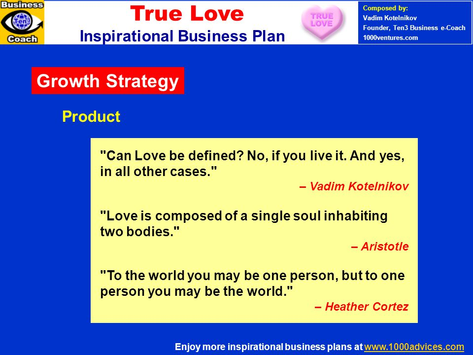 PERSONAL SUCCESS 360 (Ten3 Mini- course) Can Love be defined.