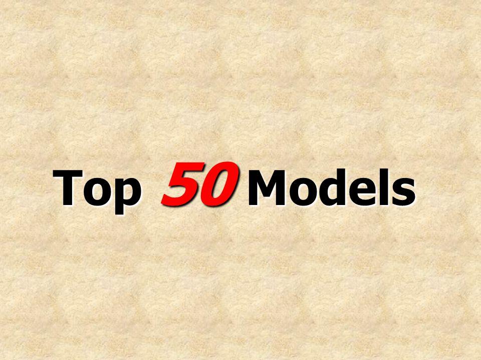 Top 50 Models