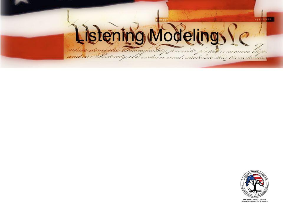 Listening Modeling
