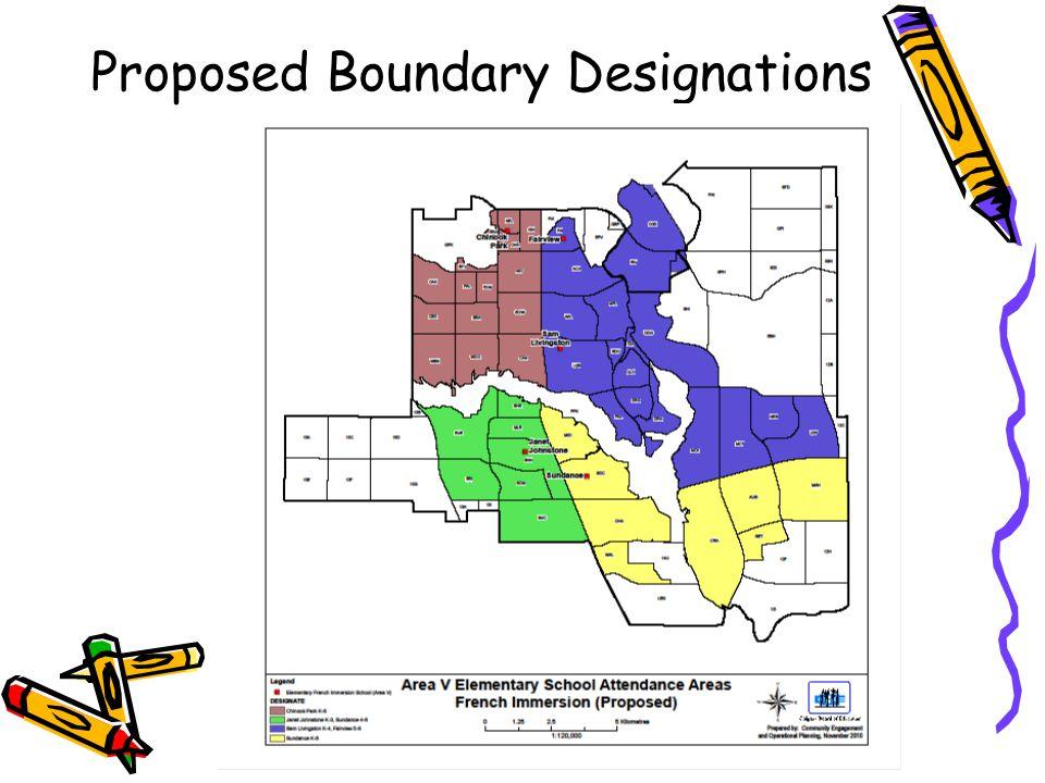 Proposed Boundary Designations