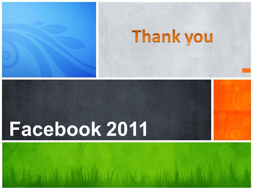 What's Your Message? Facebook 2011