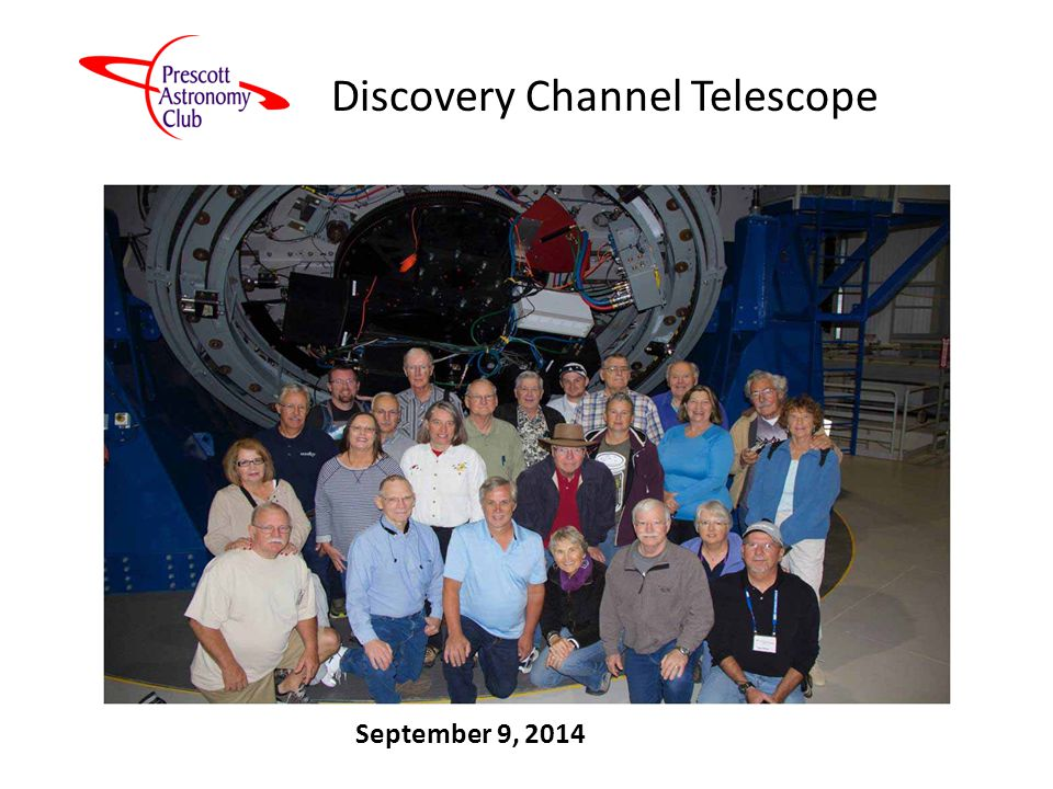 Discovery Channel Telescope September 9, 2014