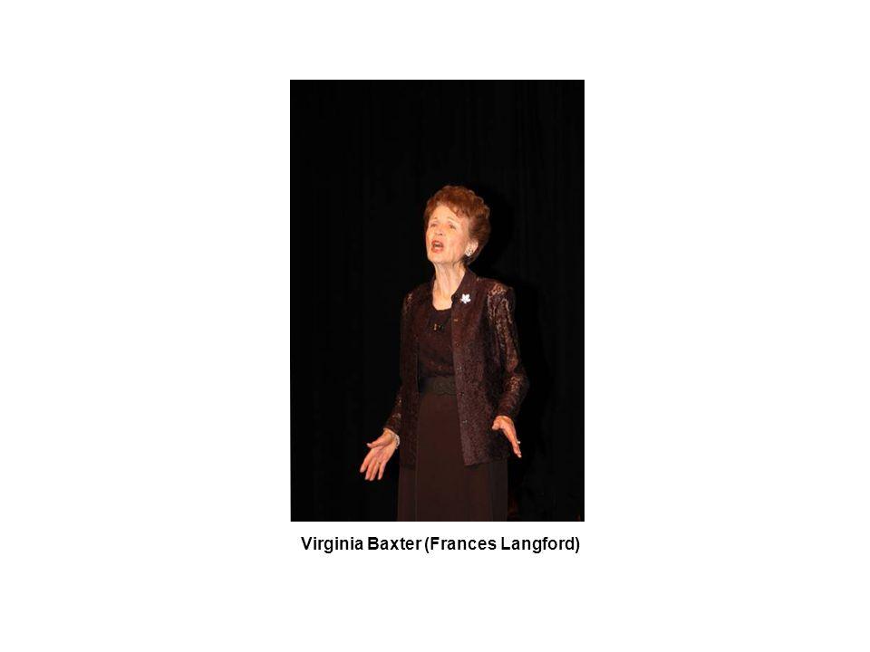 Virginia Baxter (Frances Langford)