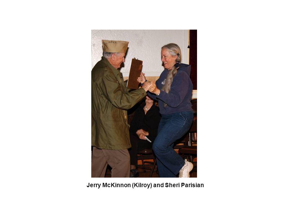 Jerry McKinnon (Kilroy) and Sheri Parisian