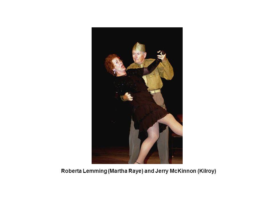 Roberta Lemming (Martha Raye) and Jerry McKinnon (Kilroy)