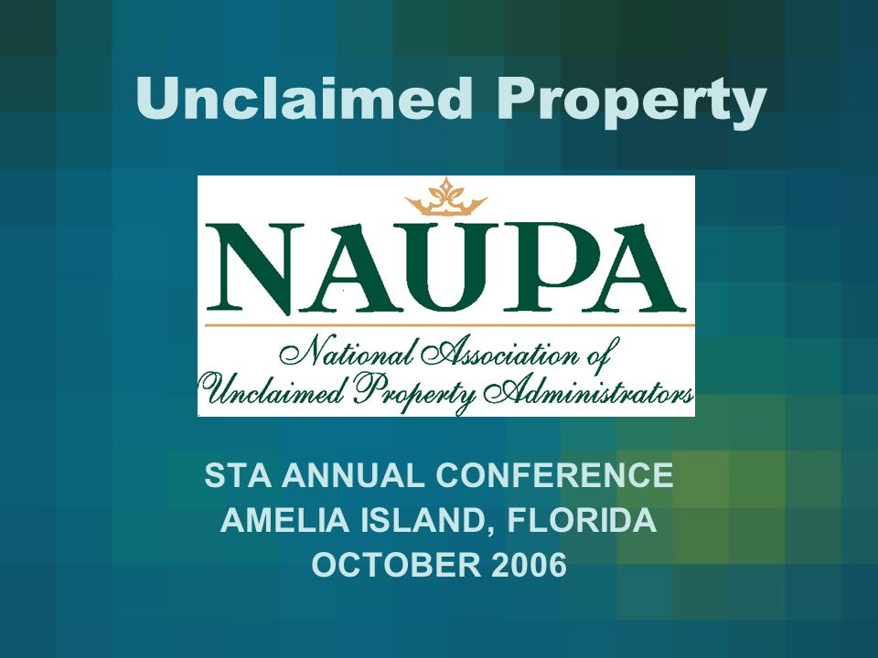 NAUPA Within the past year, the Committee has been very active in the following areas:  Initiating a review of current relationship codes used to indicate how the primary owner is related to additional owners of the same property.