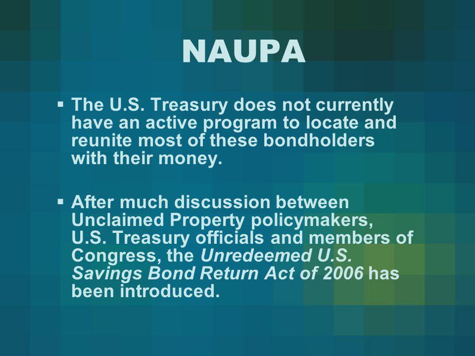 NAUPA  The U.S.