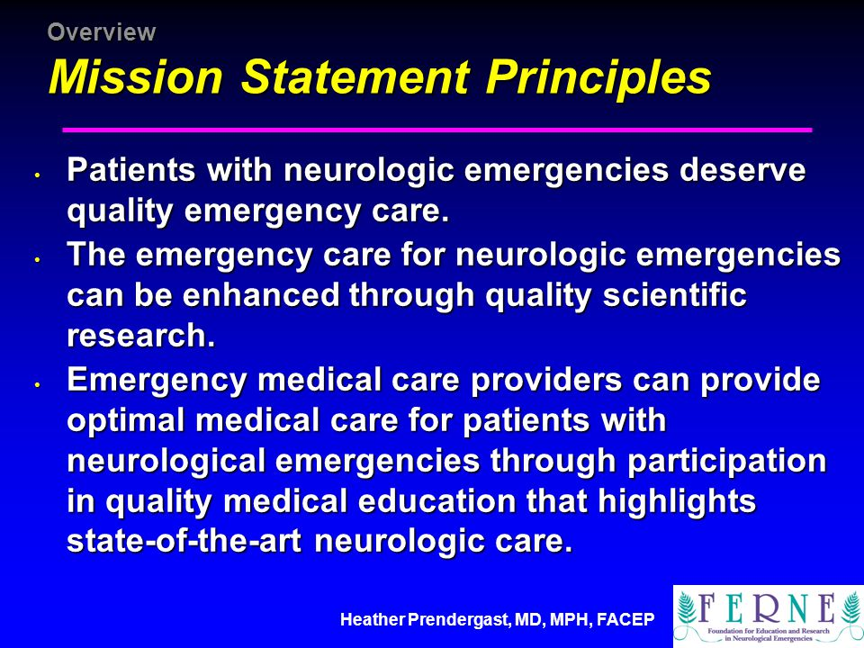 Heather Prendergast, MD, MPH, FACEP Education Other Educational Materials Acute Stroke Materials Developed a Handbook and Companion CD Rom Developed a Handbook and Companion CD Rom Published Spring 2004 Published Spring 2004 Collaboration included American Stroke Association and France Foundation Collaboration included American Stroke Association and France Foundation