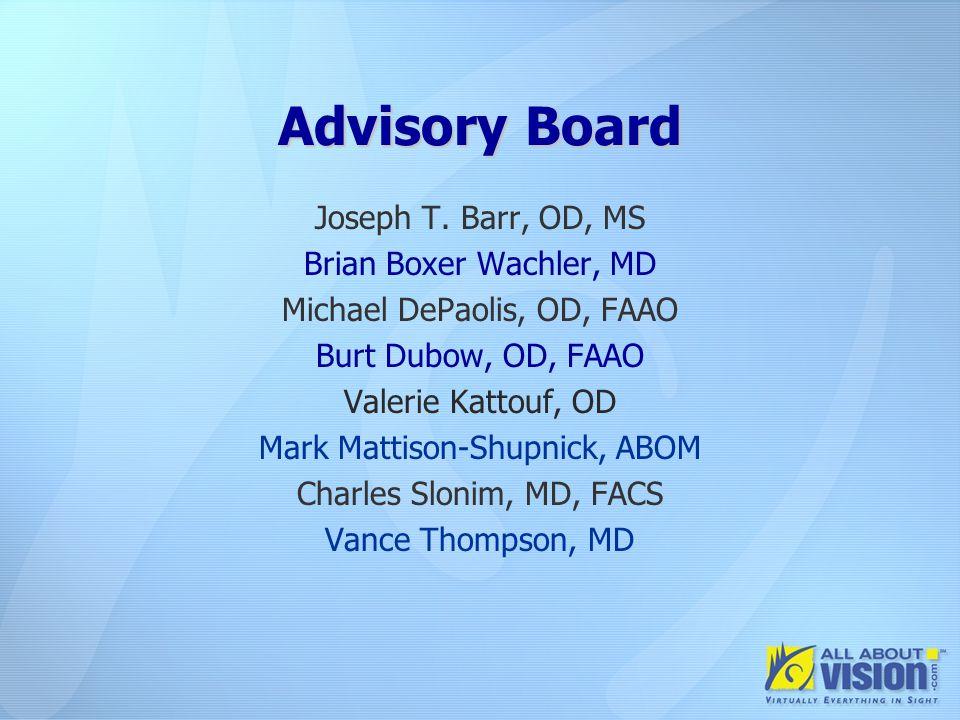 Advisory Board Joseph T.