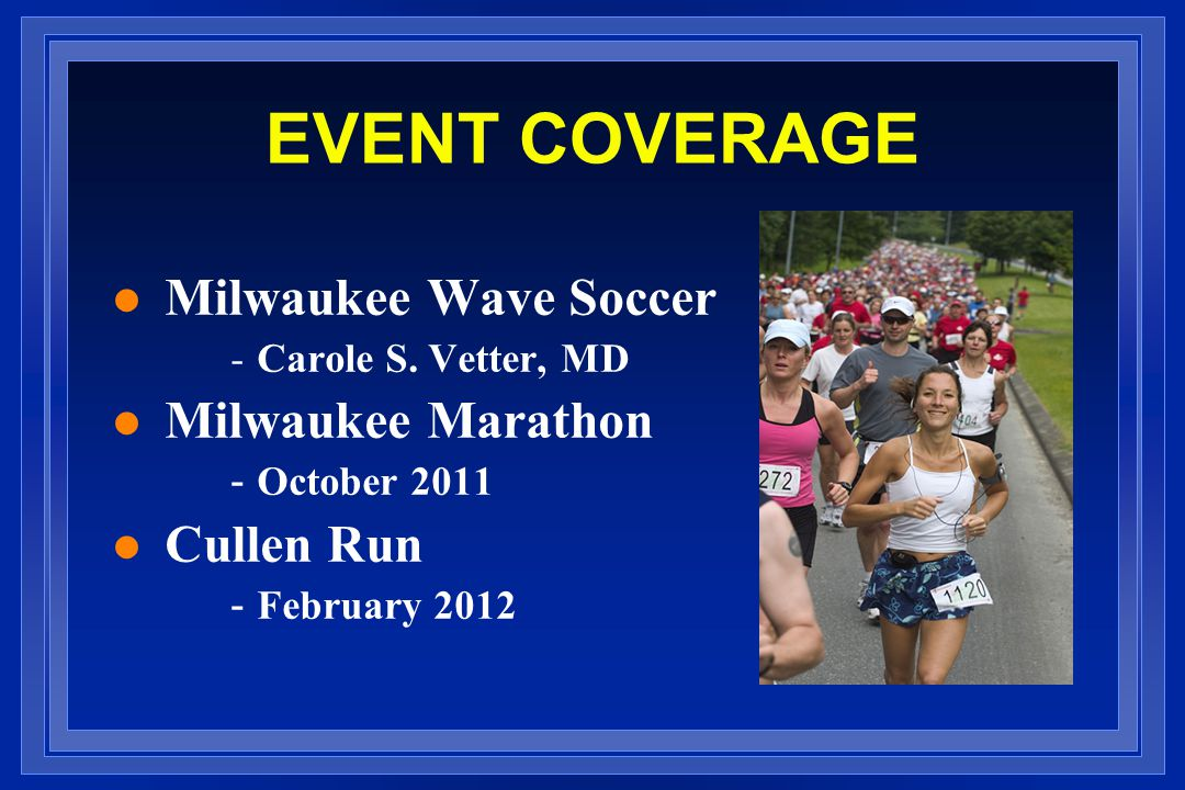 EVENT COVERAGE l Milwaukee Wave Soccer -Carole S.