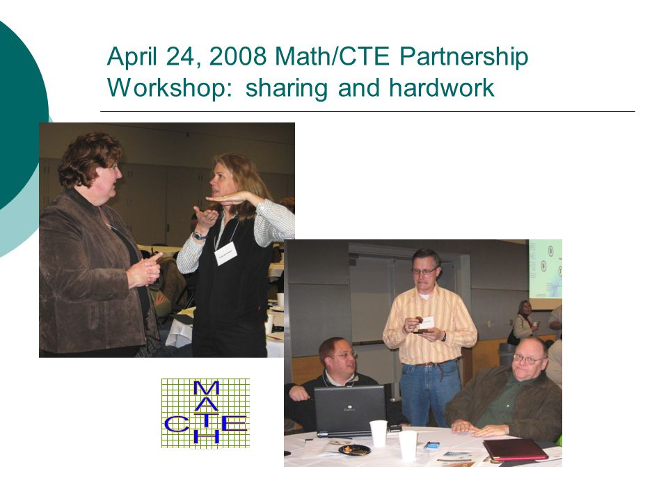 Outcomes During 2008-09 Align New Math Standards Implement and Evaluate Collaborative Projects CTE Math Electives Identified for Support Equivalency Crediting Formalized School Board Report