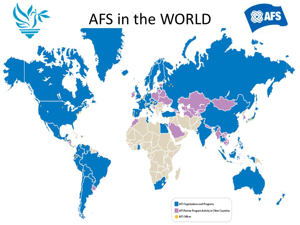 AFS Turkey The AFS Adventure started in Turkey in year 1952 when for the first time two students took part in the AFS exchange program.