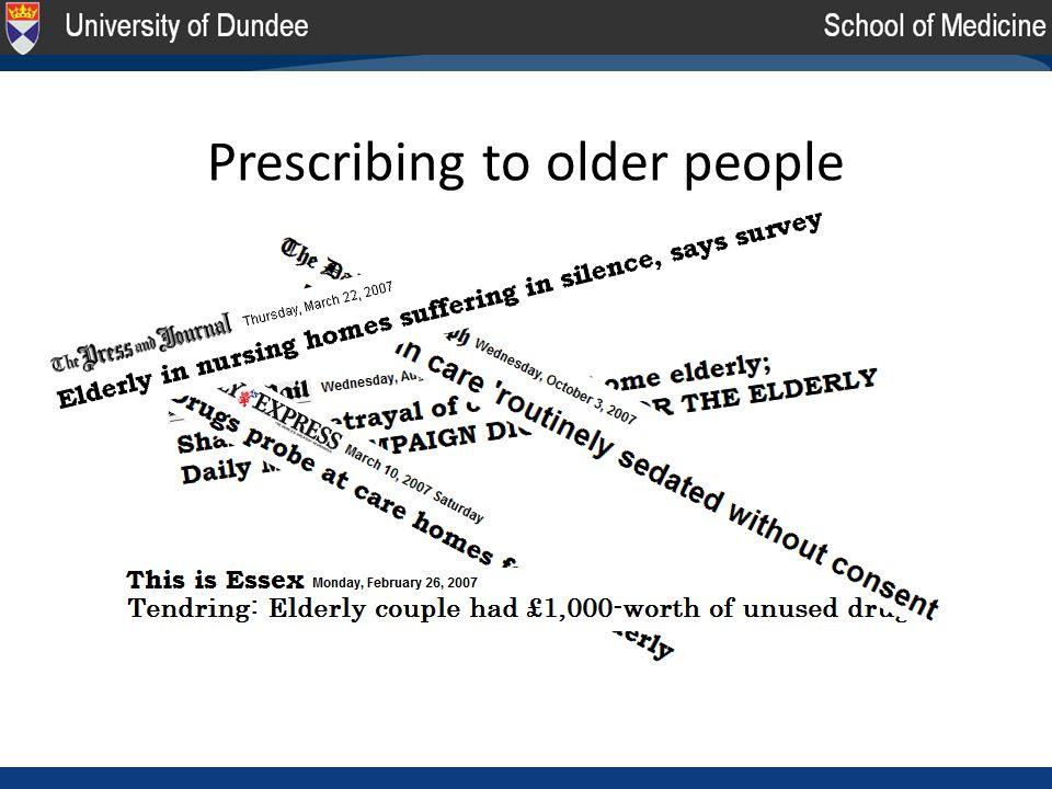 Prescribing to older people