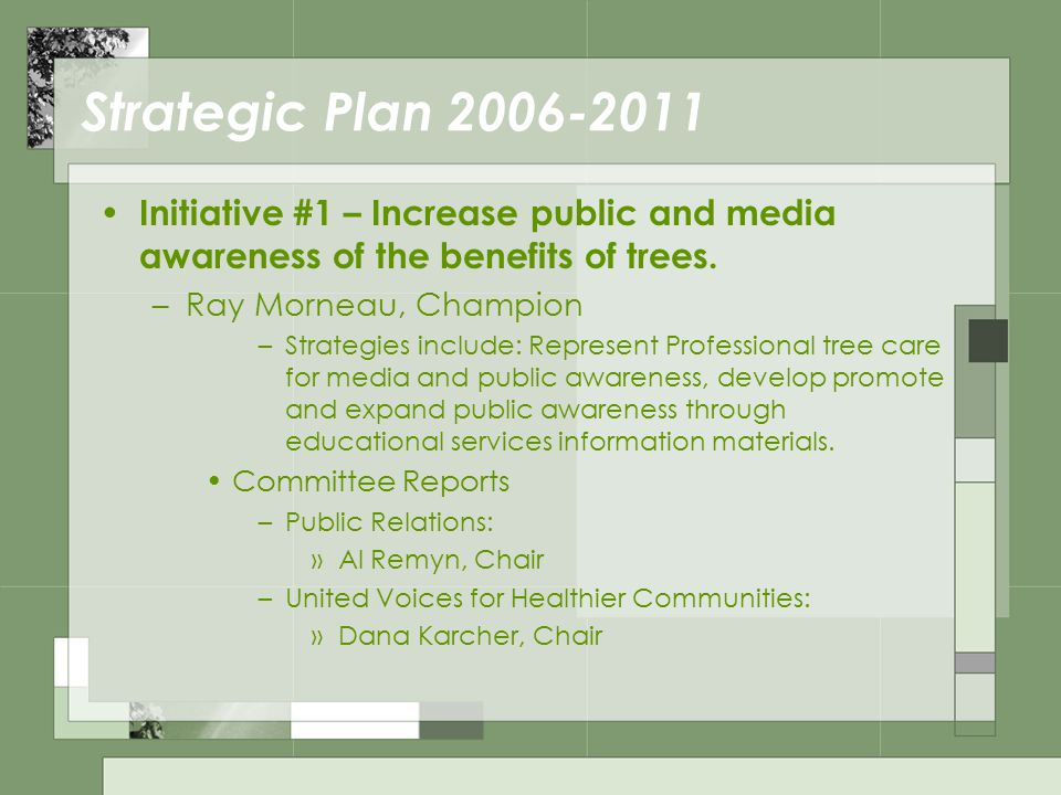 Administrative Committee Reports Annual Meeting –2007: Kevin Eckert, Chair Catch the Wave of Global Arboriculture –Honolulu, Hawaii