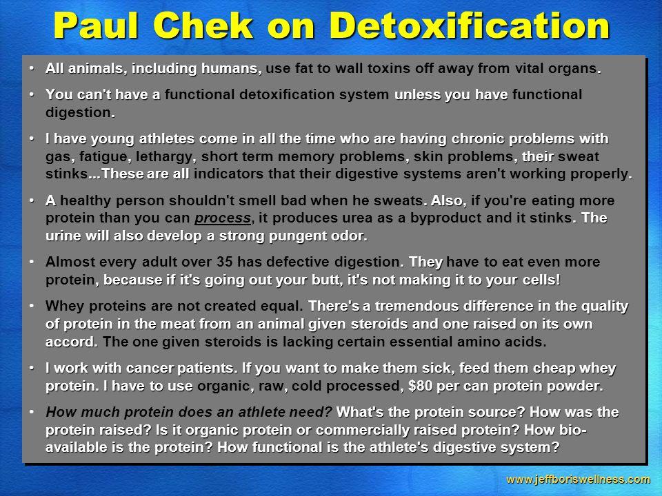 www.jeffboriswellness.com All animals, including humans,.All animals, including humans, use fat to wall toxins off away from vital organs.