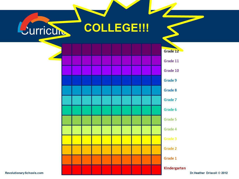 Curriculum Idealized COLLEGE!!.