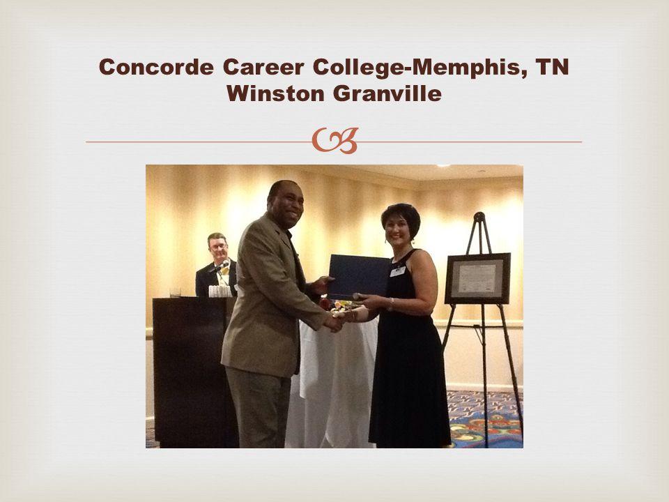  Concorde Career College-Memphis, TN Winston Granville