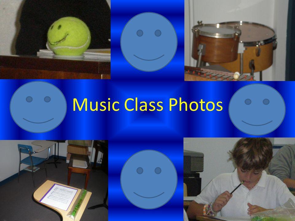 Music Class Photos