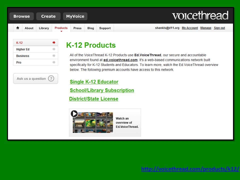 http://voicethread.com/products/k12/