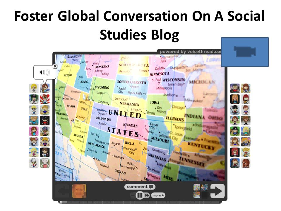 Foster Global Conversation On A Social Studies Blog