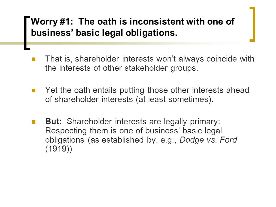 Worry #2: There are better options for making business morally better.