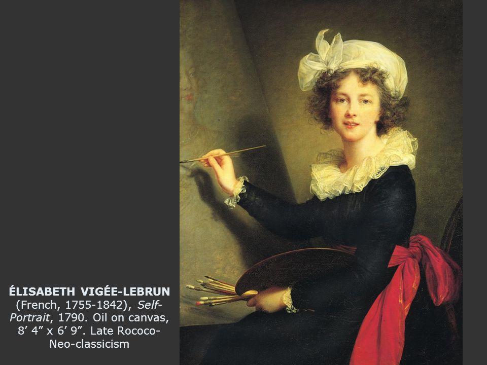 ÉLISABETH VIGÉE-LEBRUN (French, 1755-1842), Self- Portrait, 1790.