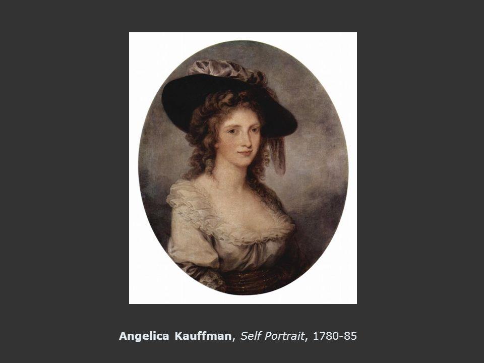 Angelica Kauffman, Self Portrait, 1780-85