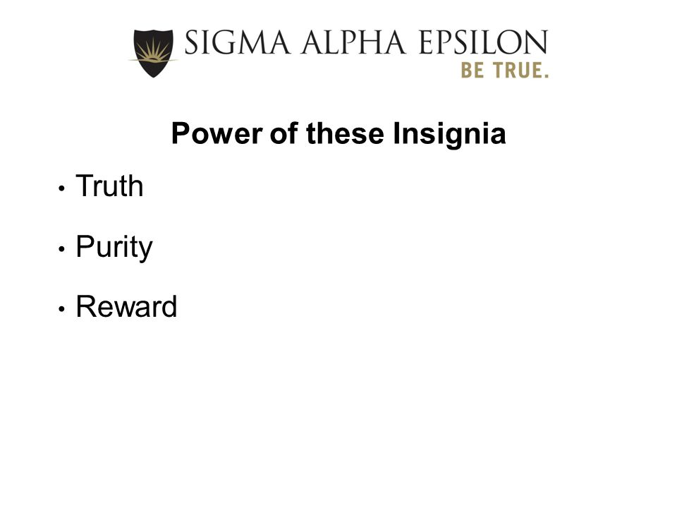 Values from Our Ritual Character Commitment Integrity Truth Sincerity