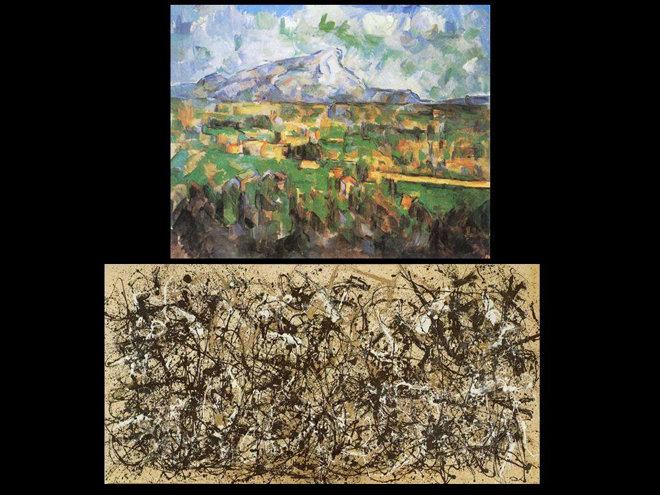 Cezanne; Pollock