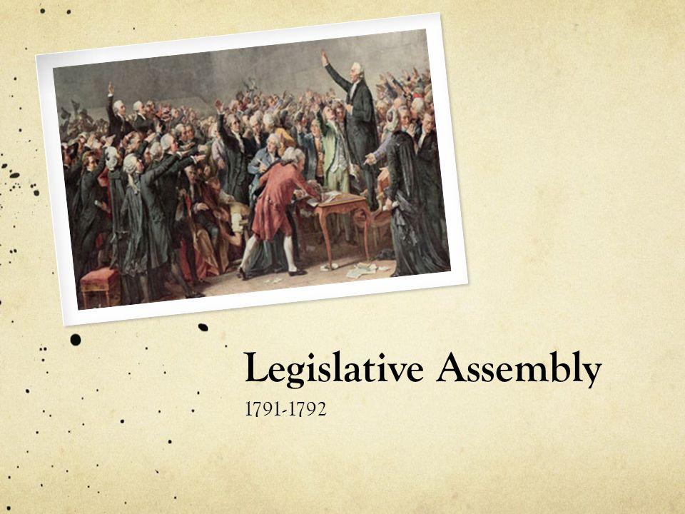 Legislative Assembly 1791-1792