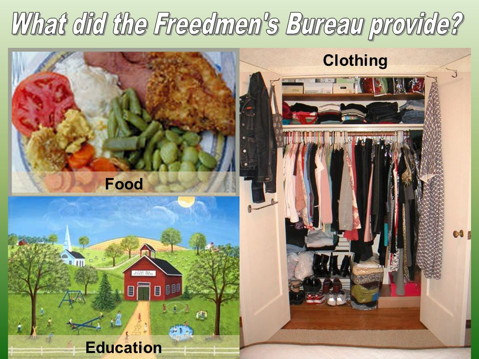 Food Education Clothing