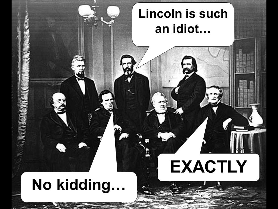 EXACTLY Lincoln is such an idiot… No kidding…