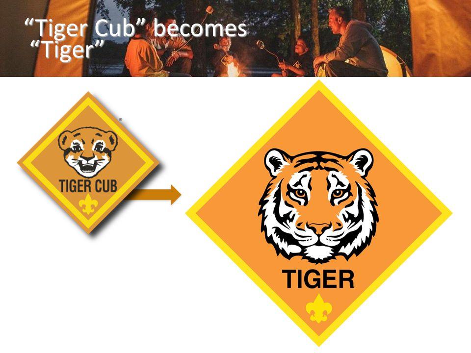 """""""Tiger Cub"""" becomes """"Tiger"""""""