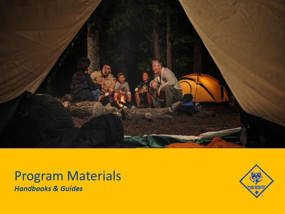 Program Materials Handbooks & Guides