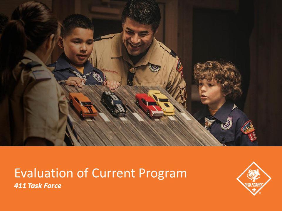 Evaluation of Current Program 411 Task Force