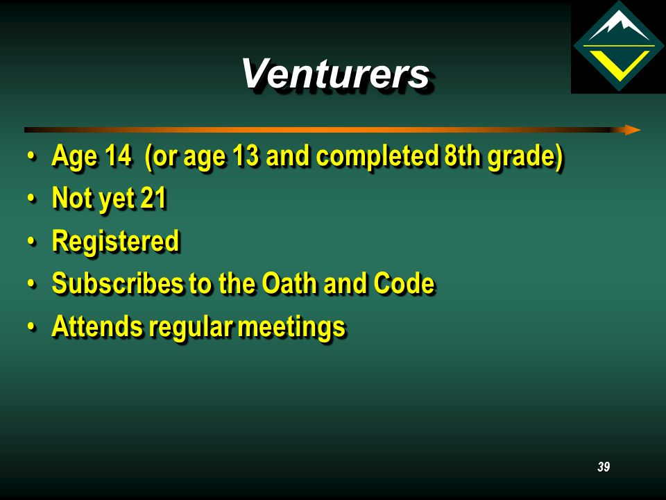 38 Adult Leaders Advisor Associate Advisors Crew Committee Consultants