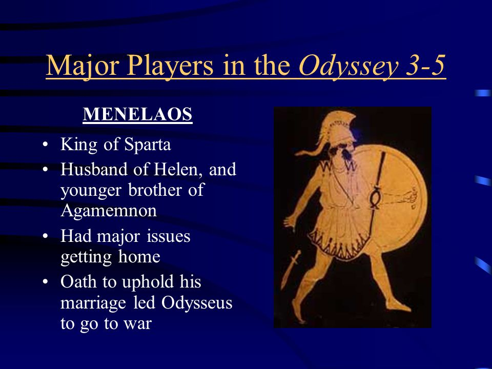 QUESTIONS TO PONDER ABOUT TELEMAKHOS' JOURNEY 1)Is Telemakhos, as Nestor, Menelaos and Helen say, a spitting image of his father in all respects.